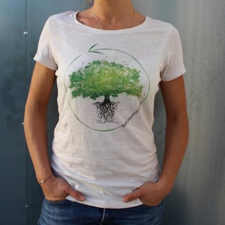 Tree - Vintage White