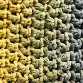 Coton jaunevertbleu